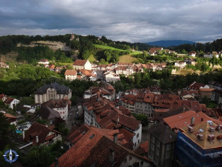 View of Basseville in Fribourg after moving to Switzerland