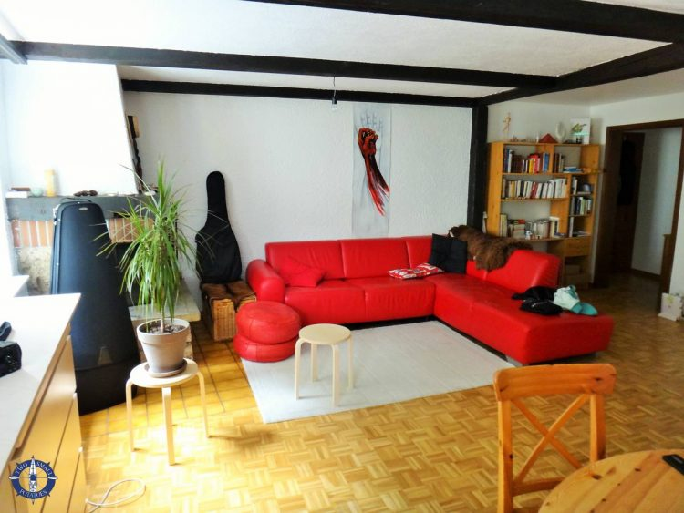 Staying at an Airbnb in Basseville, Fribourg after moving to Switzerland