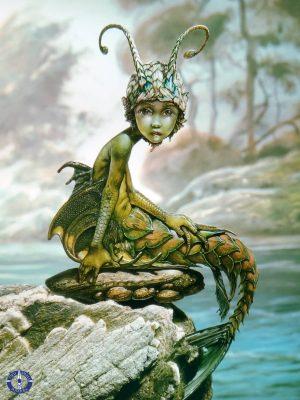 Mermaid art by Patrick Woodroffe on display in Switzerland