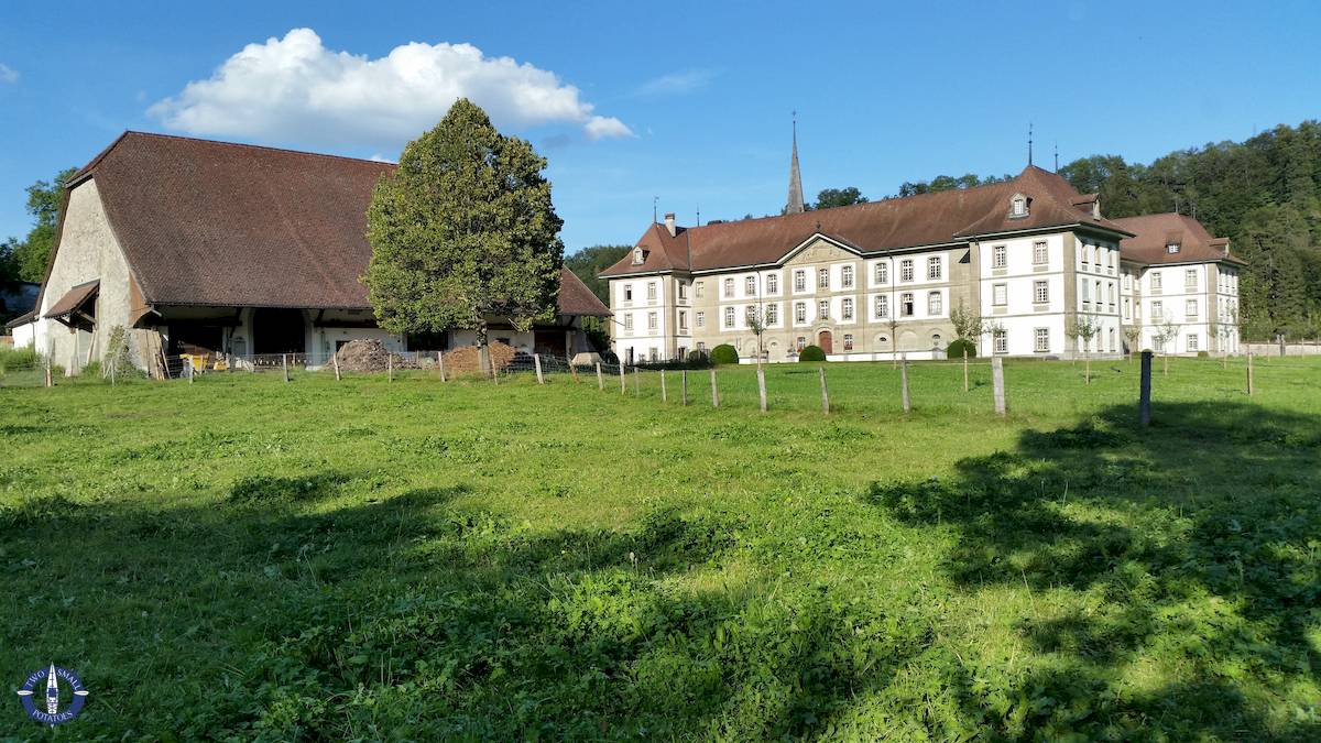L'abbaye d'hauterive in Switzerland