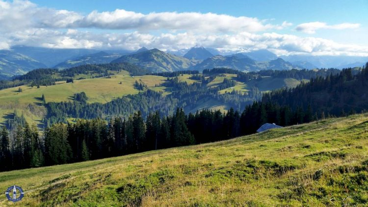 Image of Alps at Jaun Pass, Switzerland for sale by Two Small Potatoes