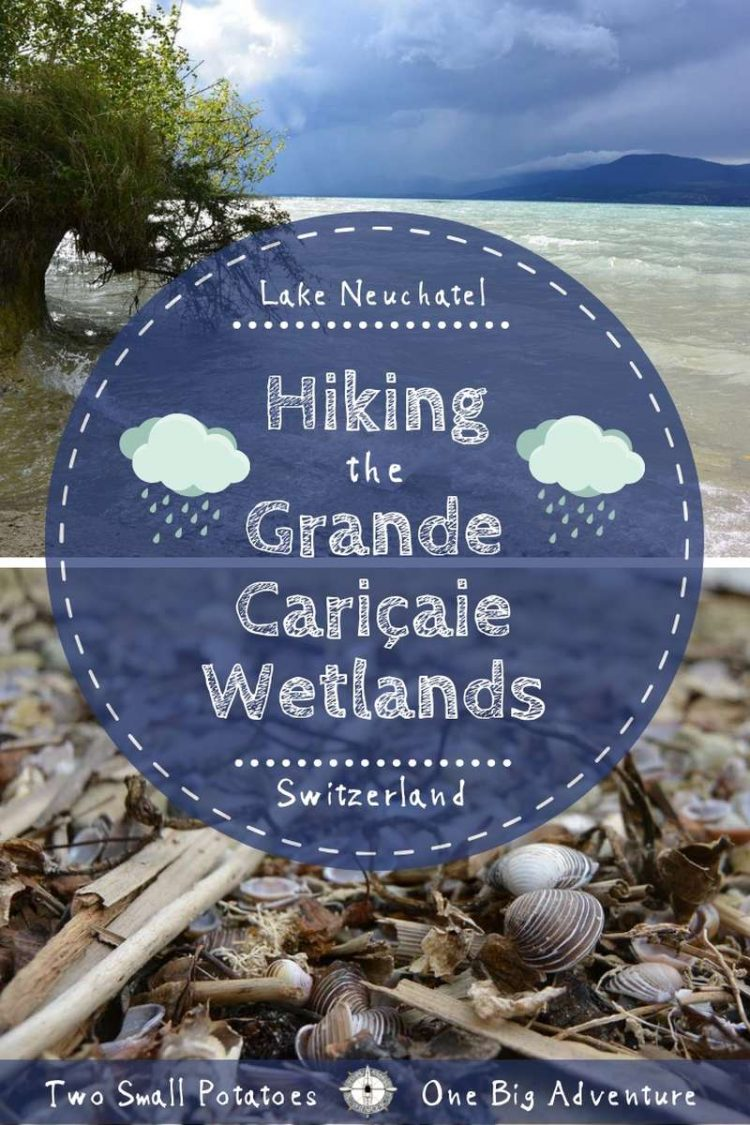 Pinterest pin for Hiking the Grande Caricaie by Two Small Potatoes, Travel Blog