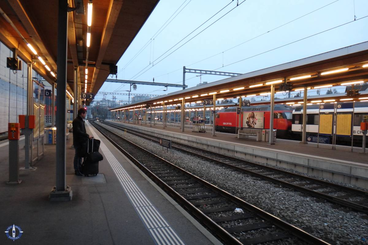 Using Swiss public transportation in Bern