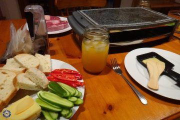 Our first homemade Swiss raclette
