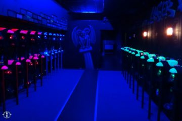 Interior of Laser District in Fribourg, Switerland