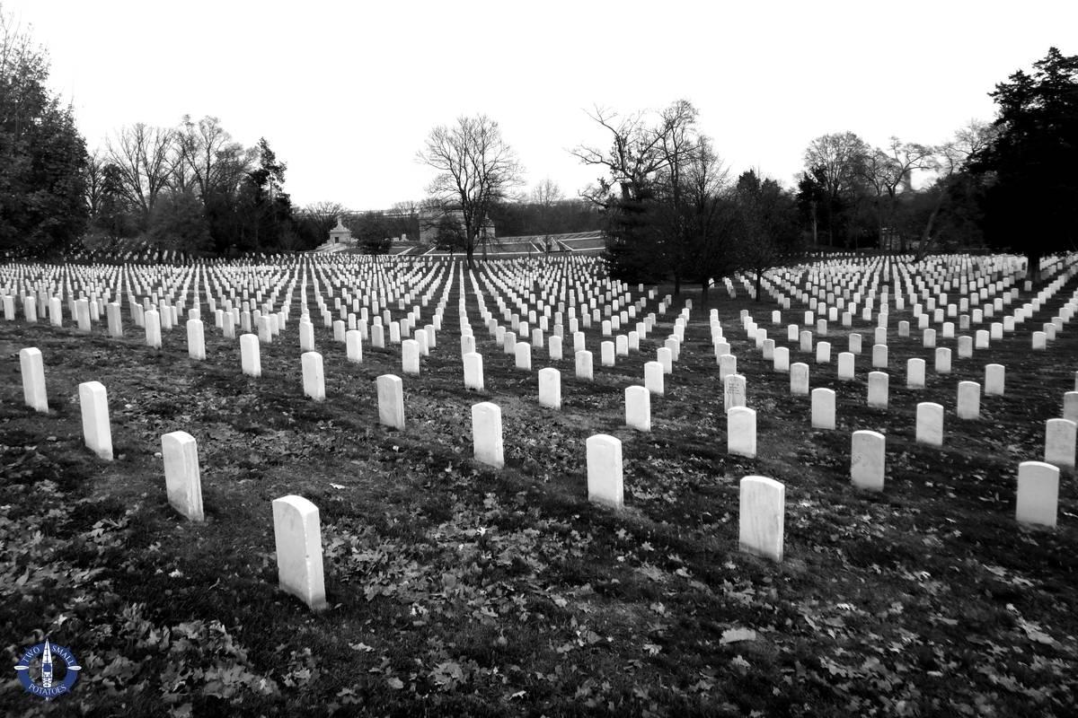 Arlington National Cemetery, honoring American Veterans