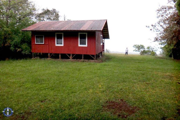 Family homestead near Hilo, Hawaii on a family trip