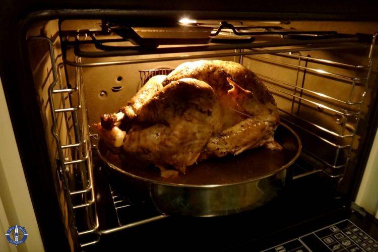 Turkey for Thanksgiving dinner in Switzerland