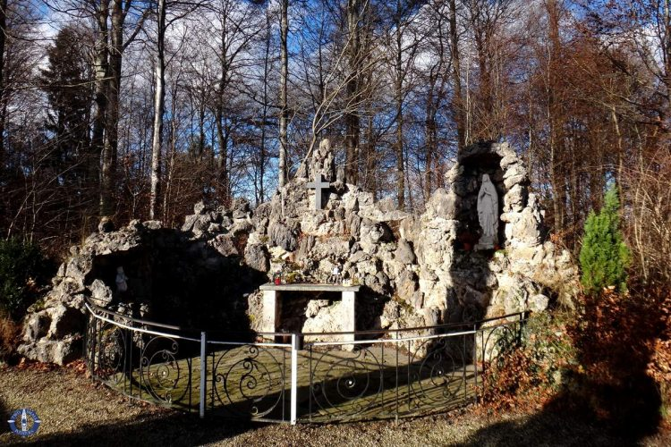 Shrine to the Virgin May in Onnens, Fribourg canton, Switzerland