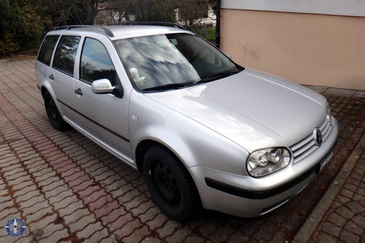 Our new, used VW car we bought in Switzerland