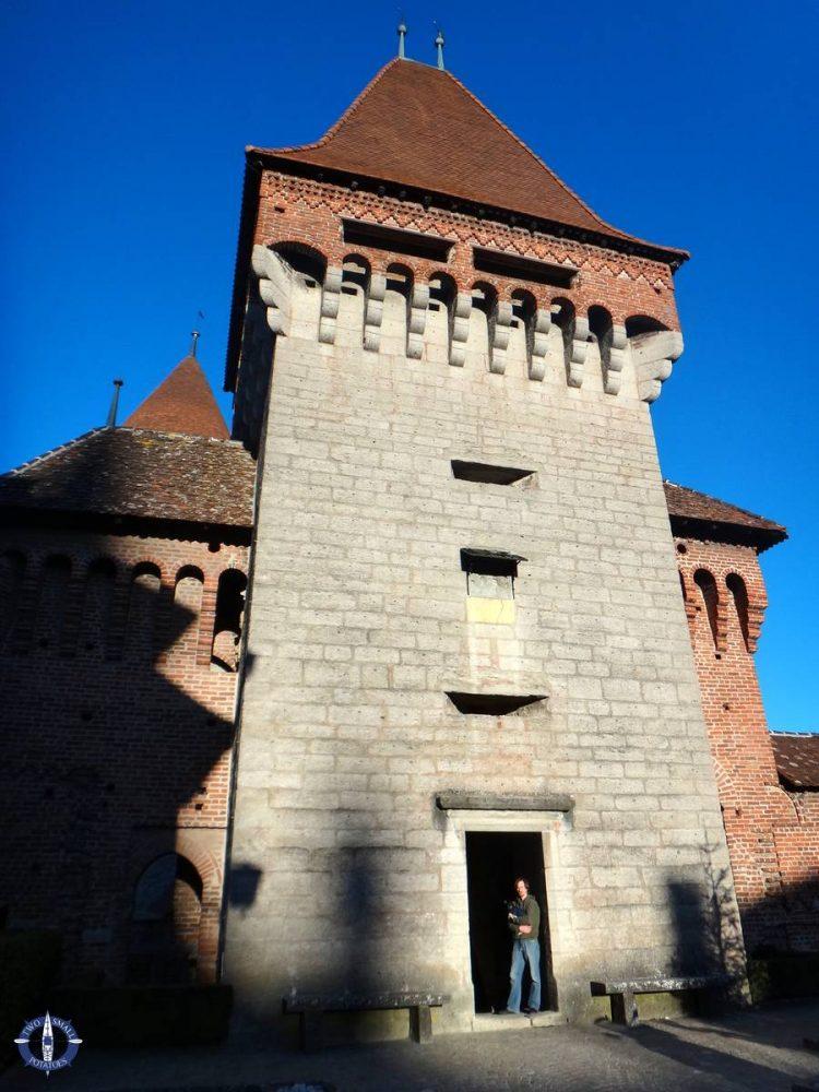 Exploring Chenaux Castle in Estavayer-le-Lac, Switzerland