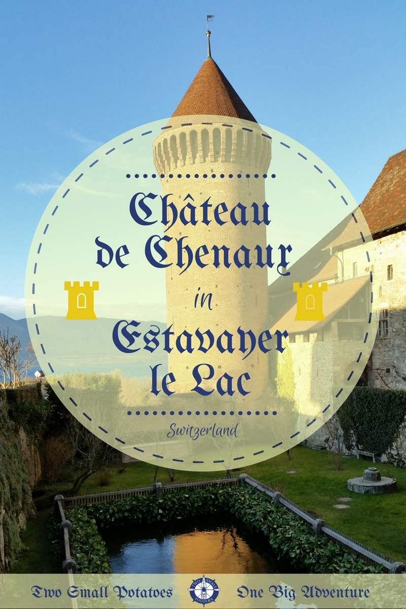 One of Switzerland's lesser known castles is the Château de Chenaux. Housing the local police station, it's open to visitors and offers stunning views of Lake Neuchâtel below.