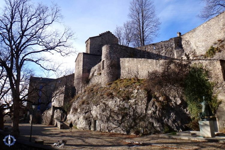Majorie Castle, one of the three castles in Sion that we visited
