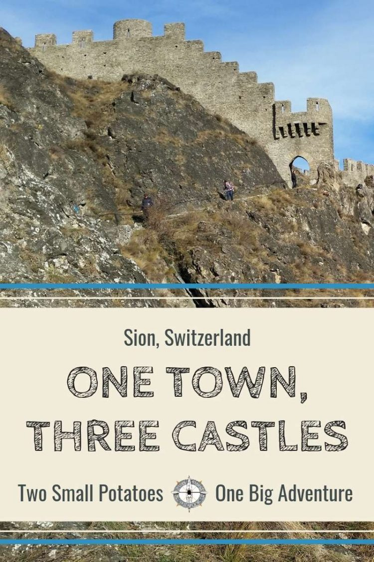 PIN for Three Castles in Sion by Two Small Potatoes