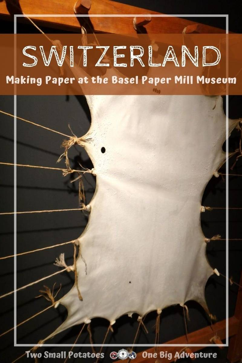 PIN for Basel Paper Mill Museum by Two Small Potatoes Travel