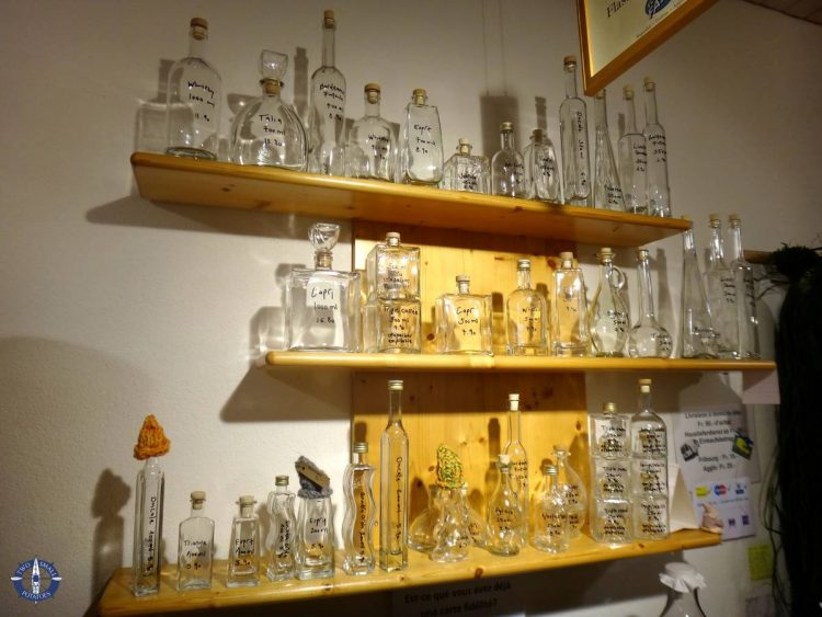 Bottles for sale at Vom Foss in Fribourg