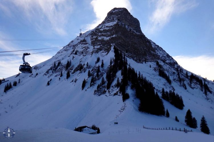 Gorgeous Moleson peak in the Swiss Alps