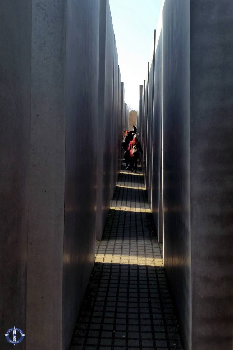 Stelae in the Memorial to the Murdered Jews of Europe