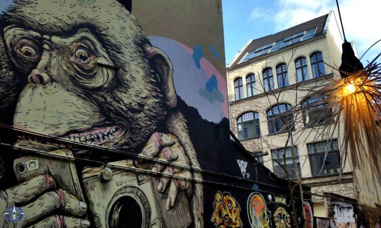 Cool street vibe in Berlin, Germany