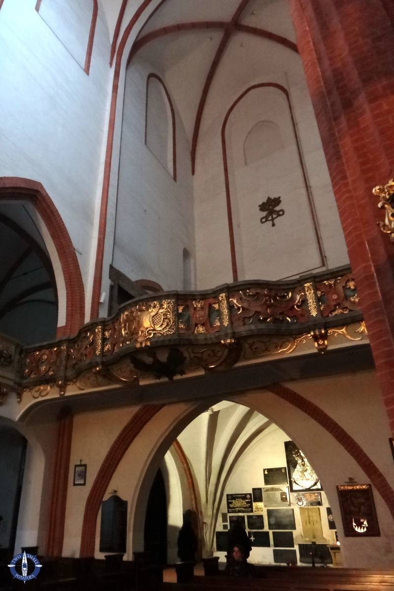 Mezzanine for future church organ at St Elizabeth Church
