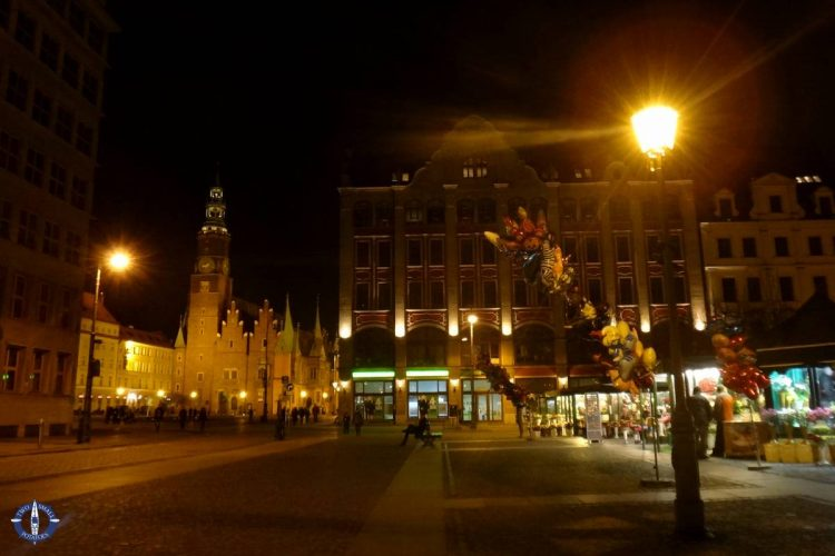 Cinnabon in Wroclaw's Market Square