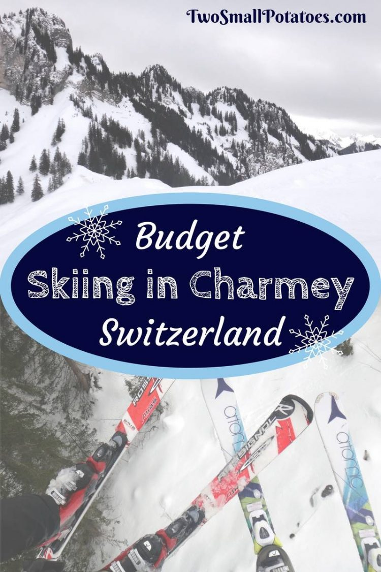 PIN, Budget skiing in Switzerland by Two Small Potatoes Travel