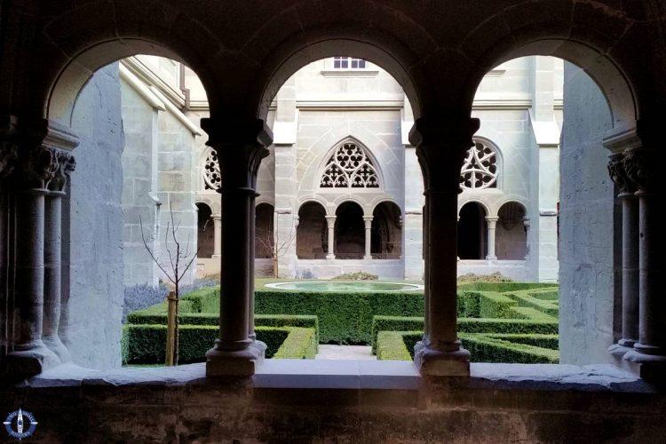 Inner sanctum at the Hauterive Abbey, Switzerland