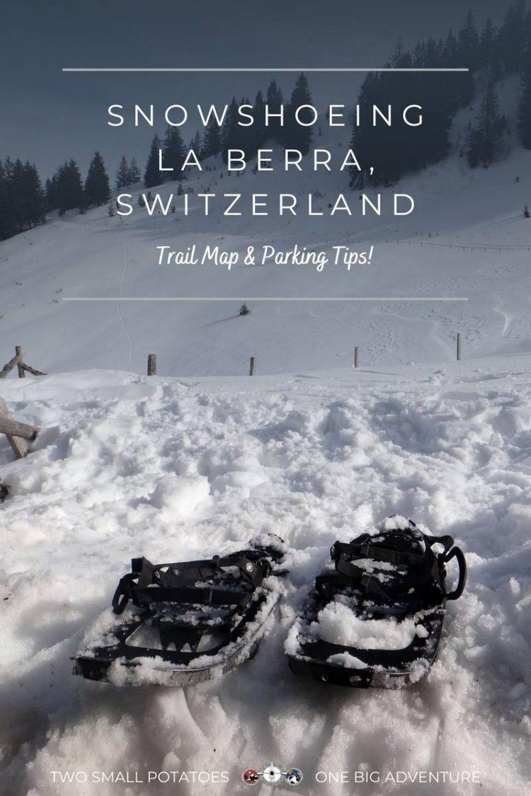 PIN, Snowshoeing La Berra by Two Small Potatoes