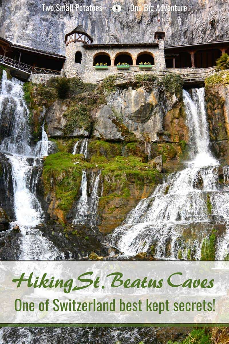 PIN, Hiking the St Beatus Caves by Two Small Potatoes Travel