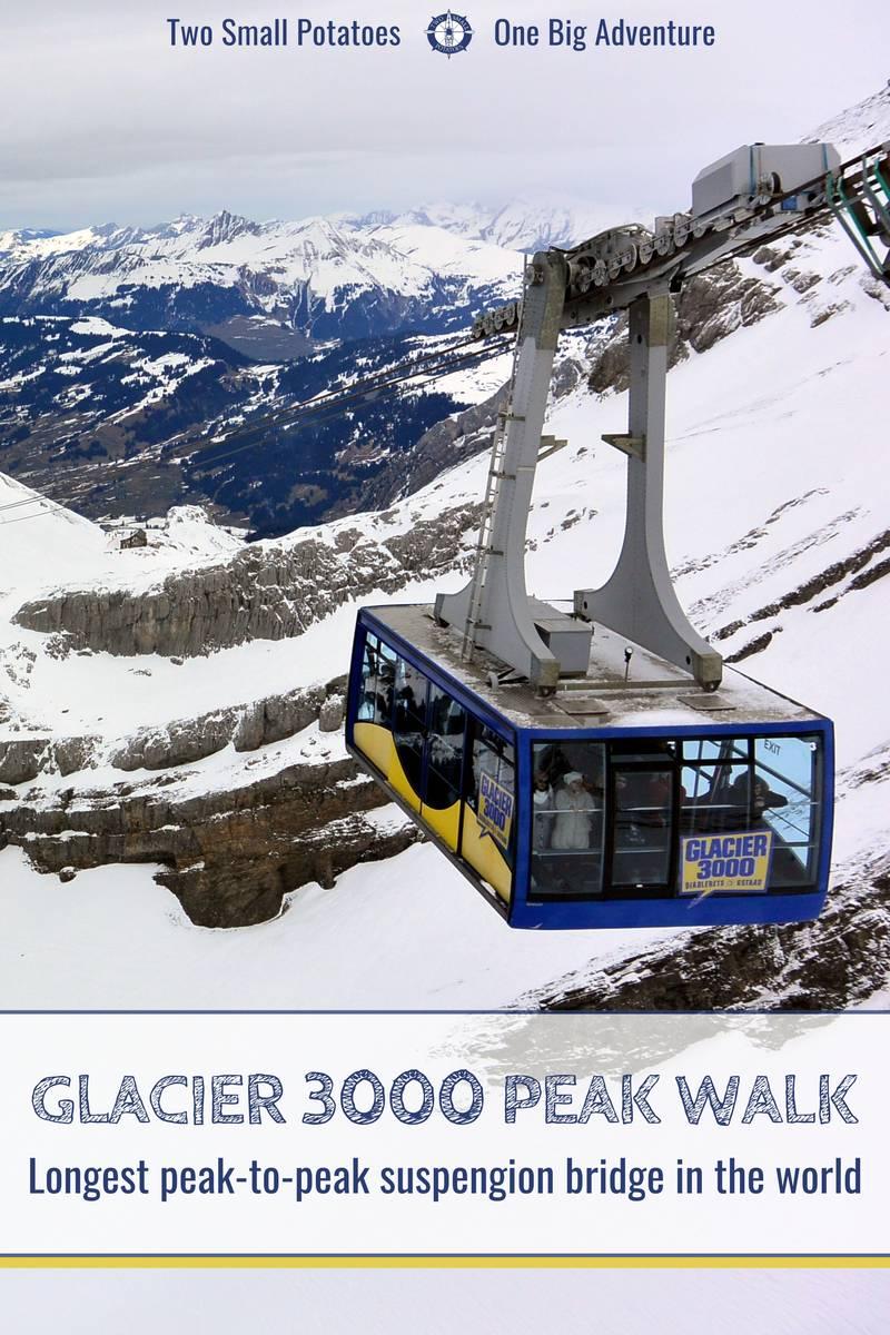 PIN 2, Glacier 3000 Peak Walk by Tissot by Two Small Potatoes