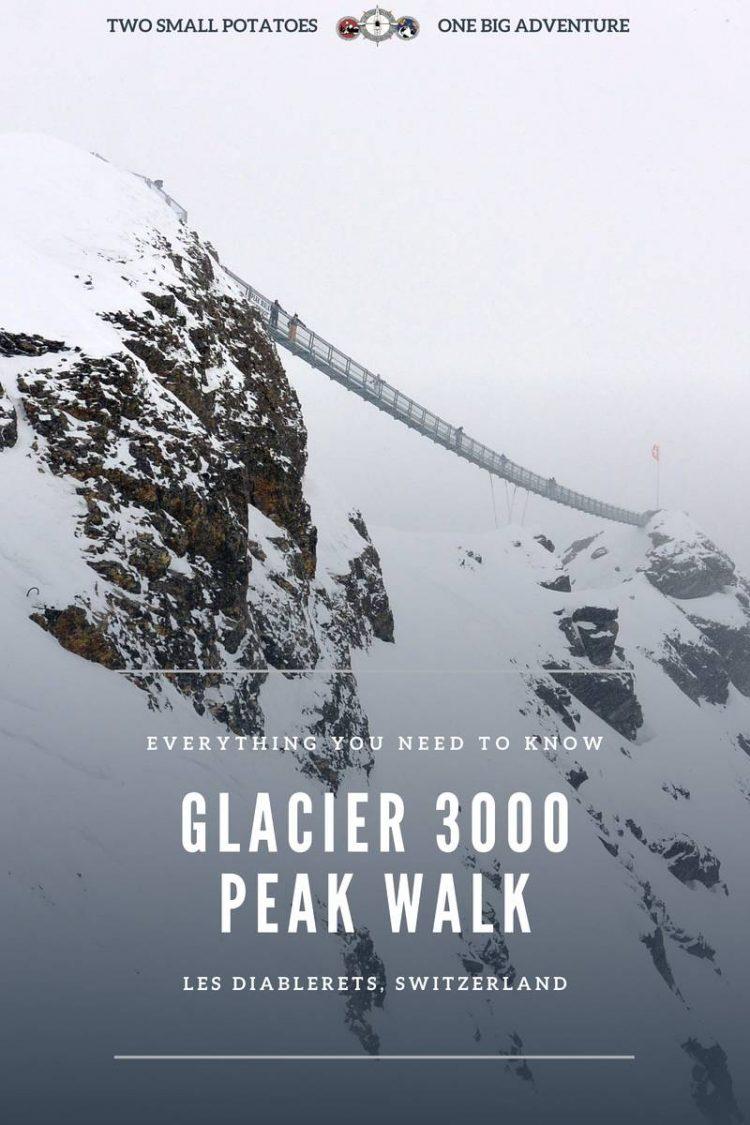 PIN, Glacier 3000 Peak Walk by Tissot by Two Small Potatoes