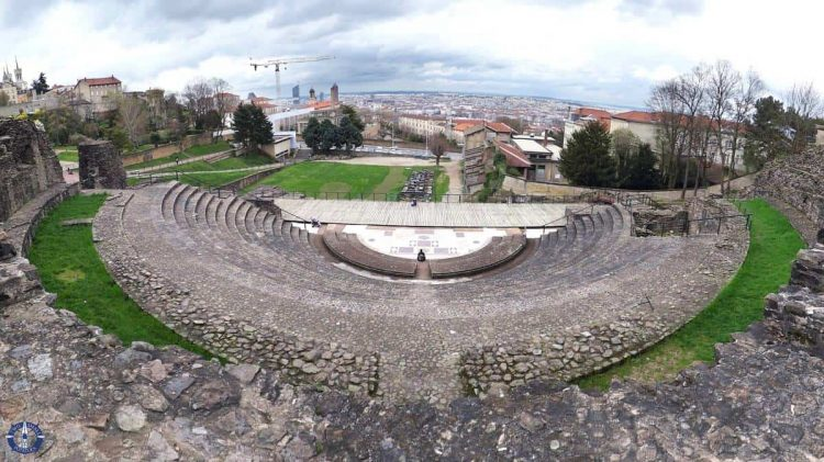 UNESCO Roman ruins, one of the best things to do in Lyon, France