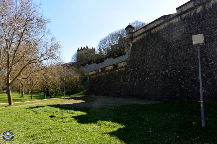 Magdalena Front of Pamplona's Old City walls