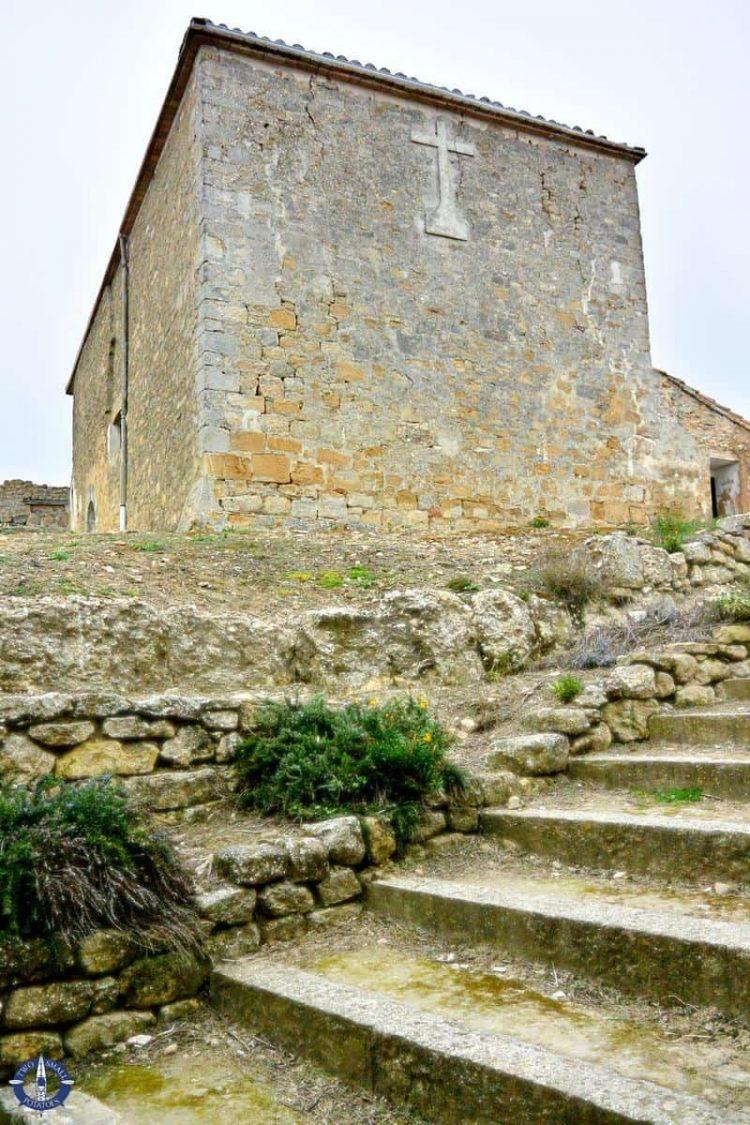 Castillo de San Esteban in Navarra, Spain
