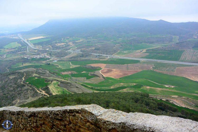 Green fields of Navarre, Spain