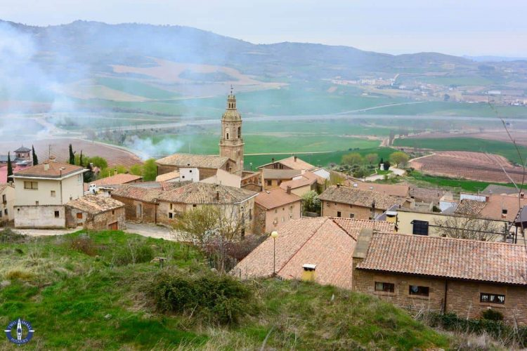 Village of Villamayor de Monjardin, Spain