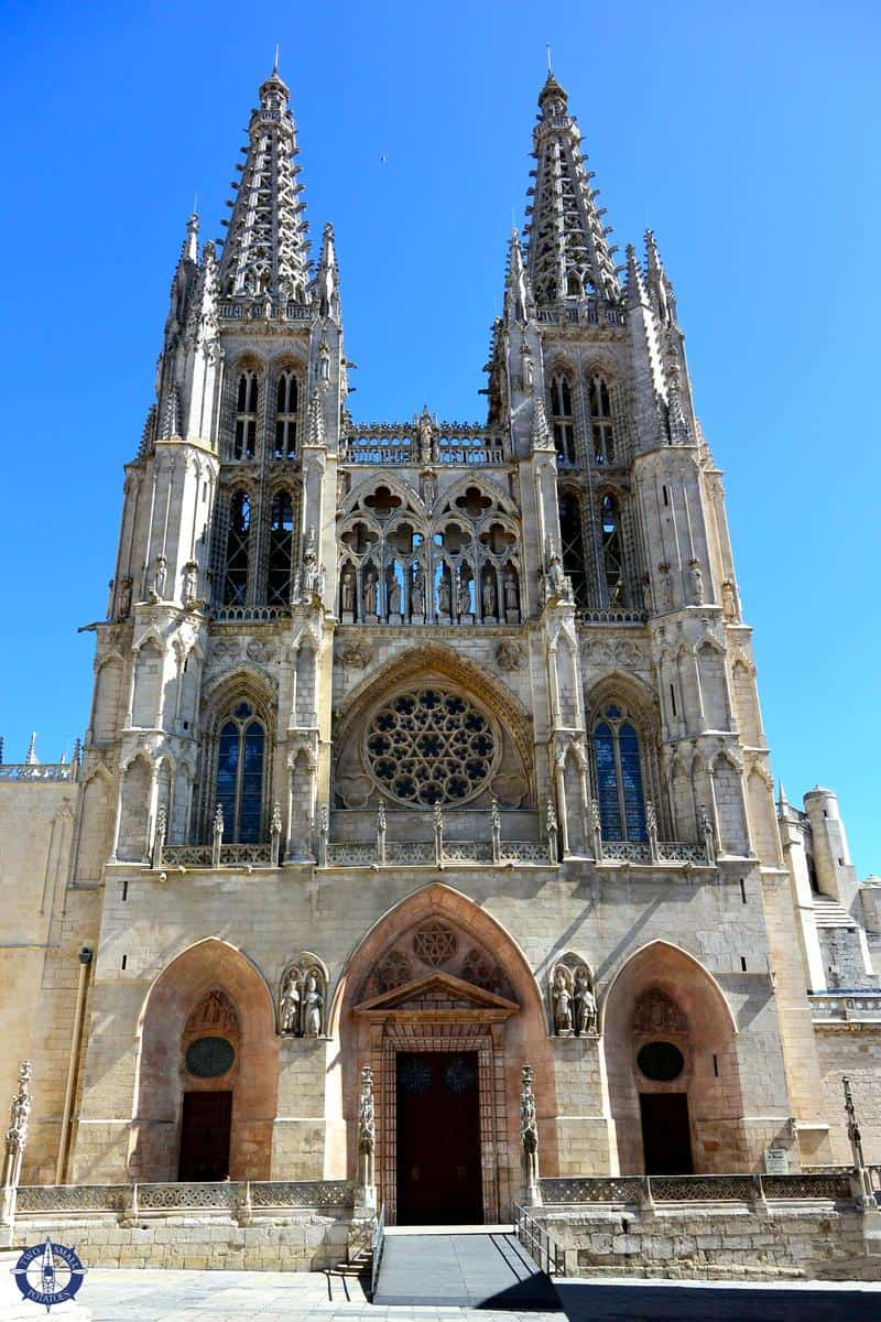 West portal of Burgos Cathedral