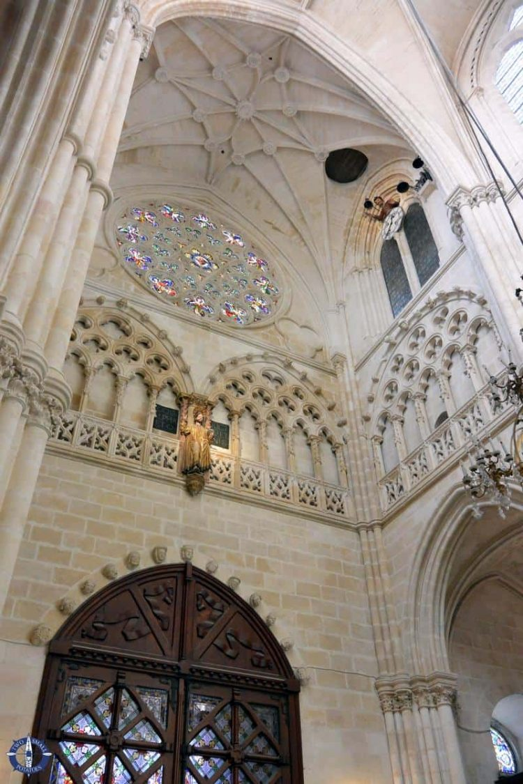 Papamoscas Clock in Spain's oldest Gothic cathedral