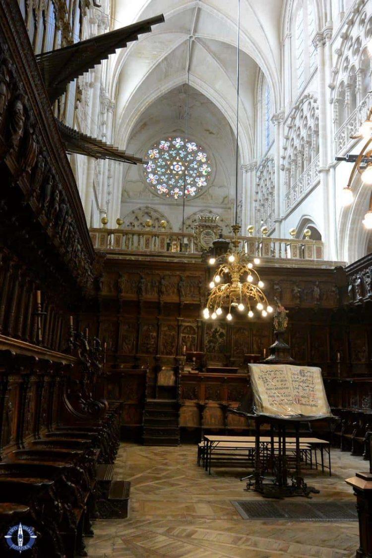 Choir in Burgos Cathedral, Spain