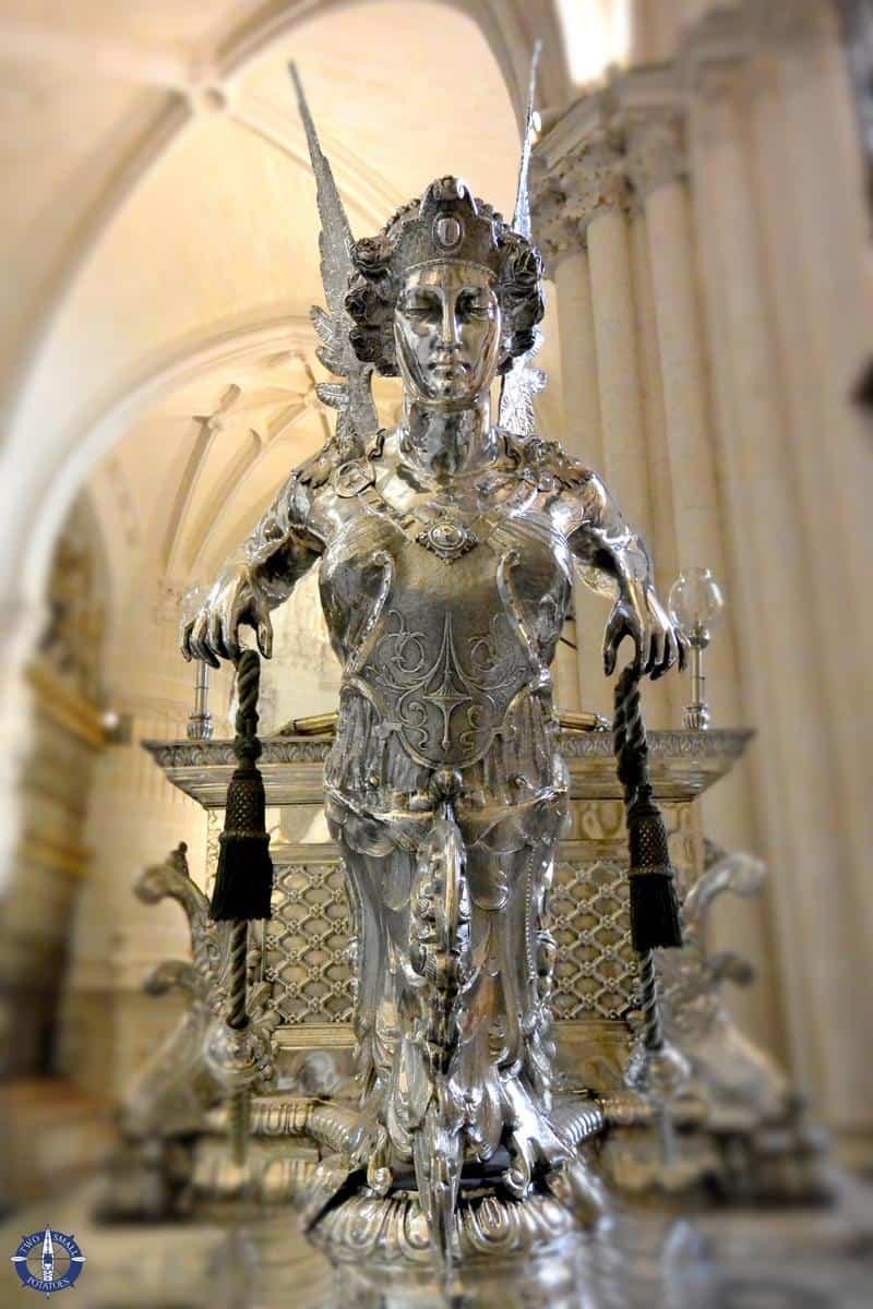 Corpus Christi carriage, Burgos Cathedral, Spain