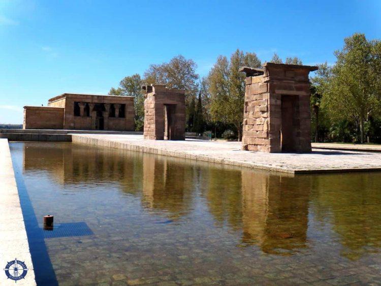 Templo de Debod in Madrid, an attraction worth visiting