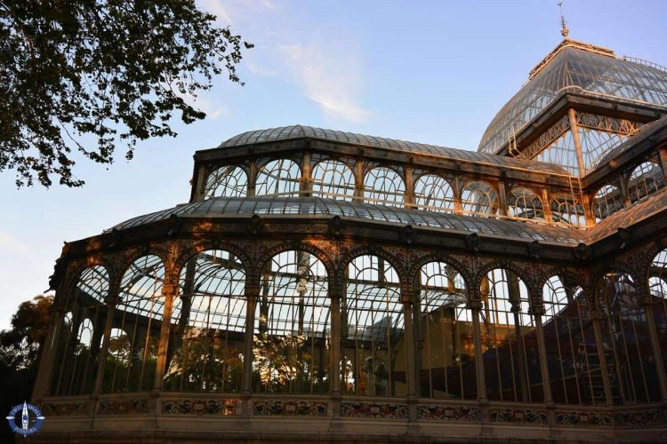 The Crystal Palace in Madrid, Spain