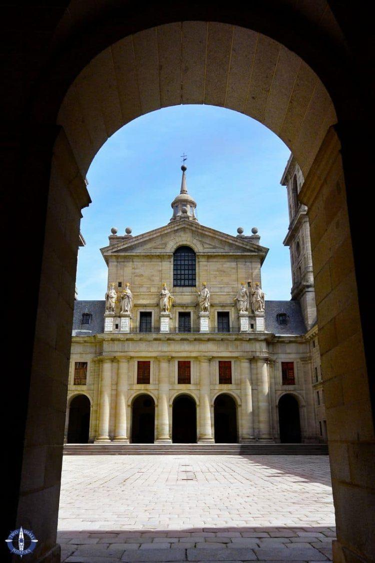 Courtyard of the Kinds of San Lorenzo de El Escorial