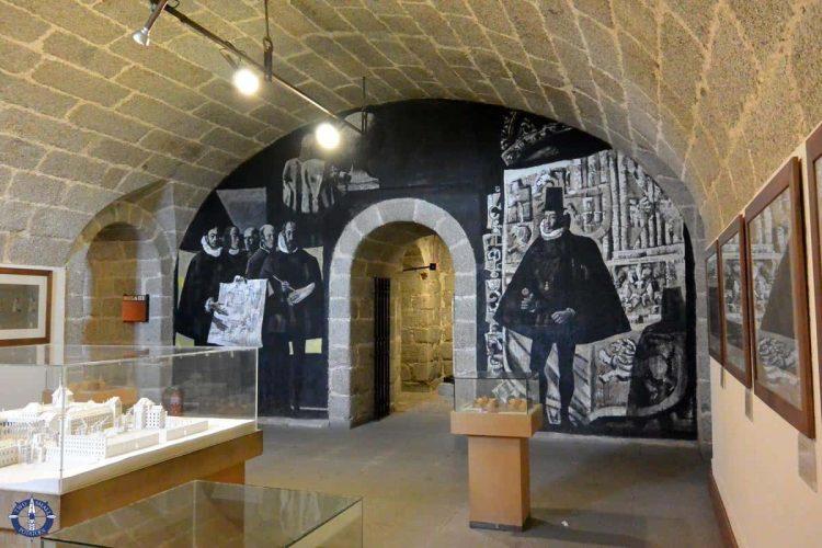 Museum at San Lorenzo de El Escorial monastery and royal site