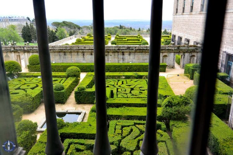 Gardens at El Escorial, Spain