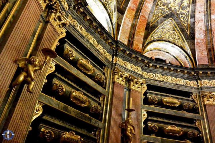 Crypt for royal monarchs in Spain