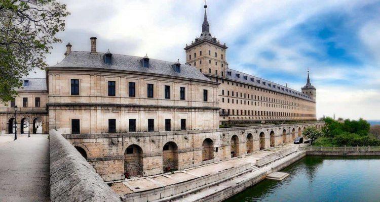 Royal Monastery of San Lorenzo de El Escorial in Spain