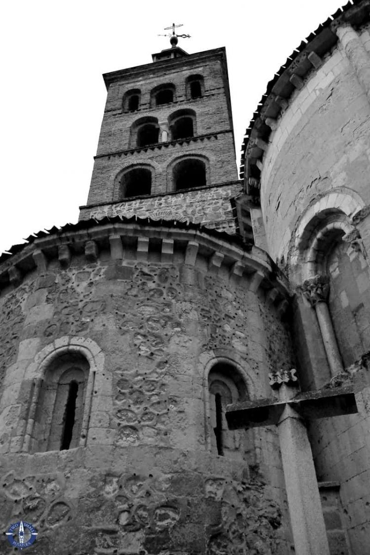 San Miguel Church, one of the best tourist attractions in Segovia, Spain