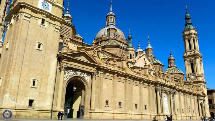 Length of the fabulous Basilica de Nuestra Senora de Pilar
