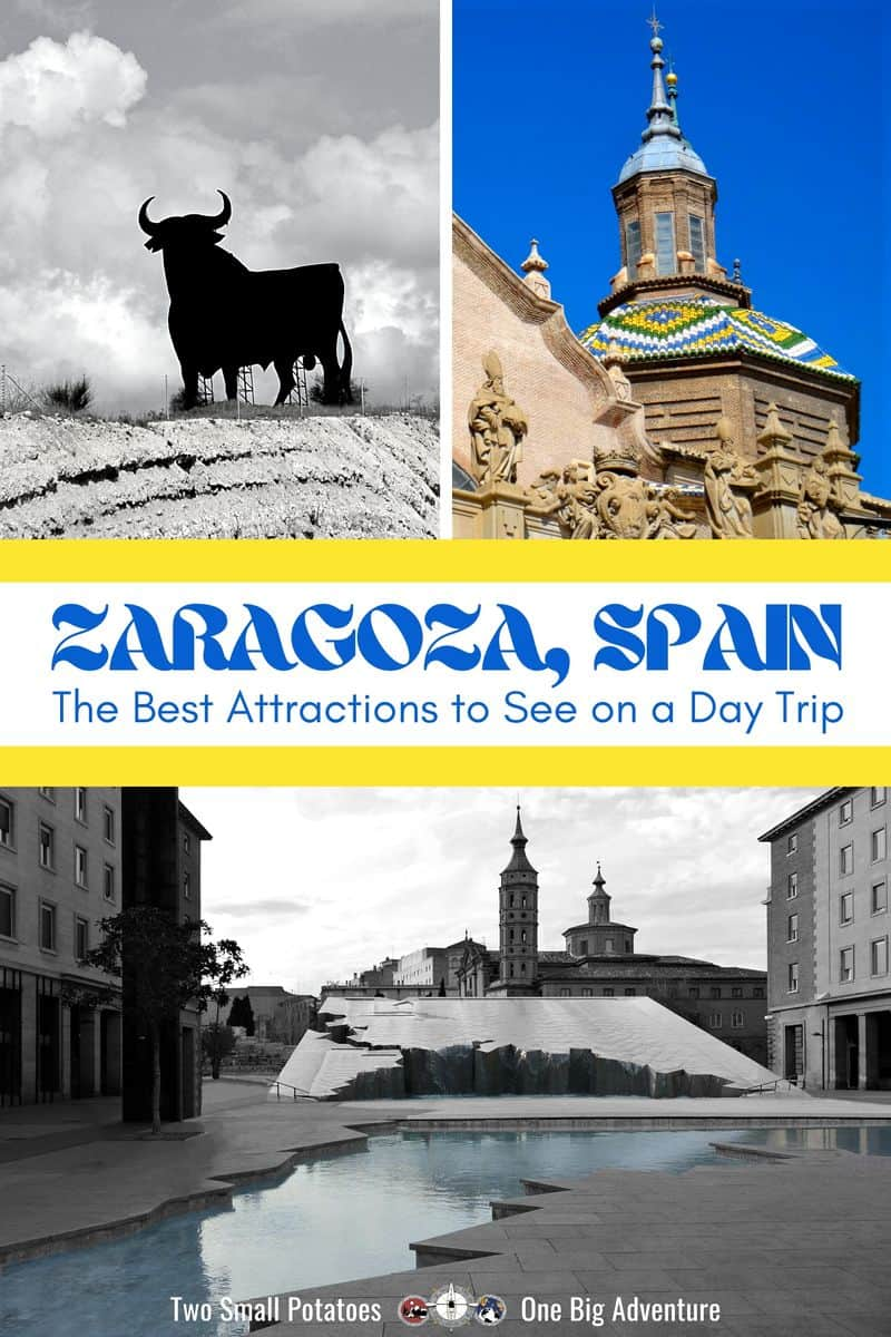 PIN 2, A Day in Zaragoza by Two Small Potatoes Travel
